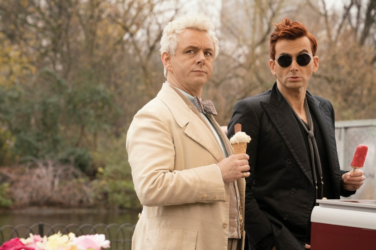 Good Omens Review: Terry Pratchett Convinced Neil Gaiman to Bring This to the Screen and We're All Better for It