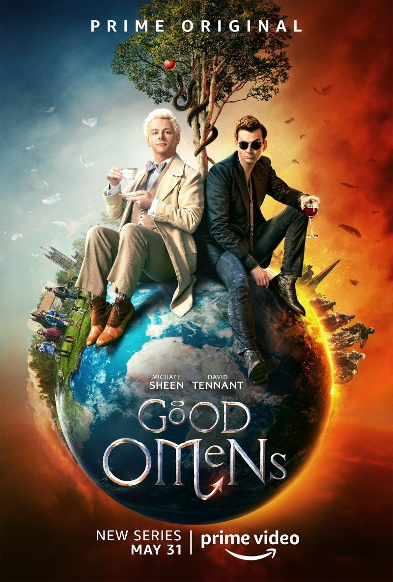 good omens poster Good Omens Amazon