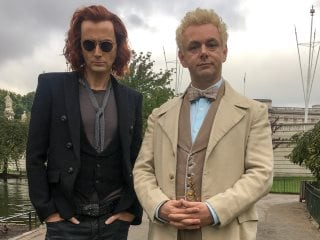 Good Omens Adds Frances McDormand as God, Reveals Behind-the-Scenes Look at San Diego Comic-Con 2018