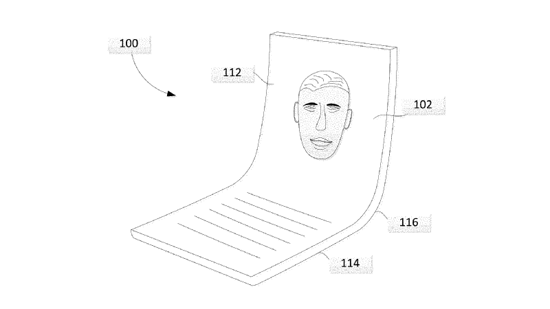 Google files patent for 'Z-fold' display technology