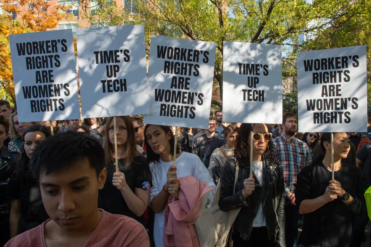 Google Walkout Organizer Quits Over Alleged Retaliation