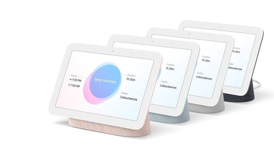 Google Nest Hub 2nd-Generation Smart Display With Sleep-Tracking Features Launched