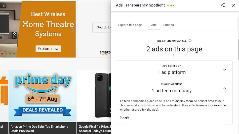 Ads Transparency Spotlight, Google's New Chrome Extension, Will Give Insights on Targeted Ads