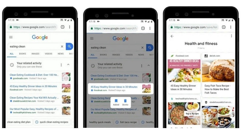 Google's New Activity Cards Aim to Help You Find Past Searches