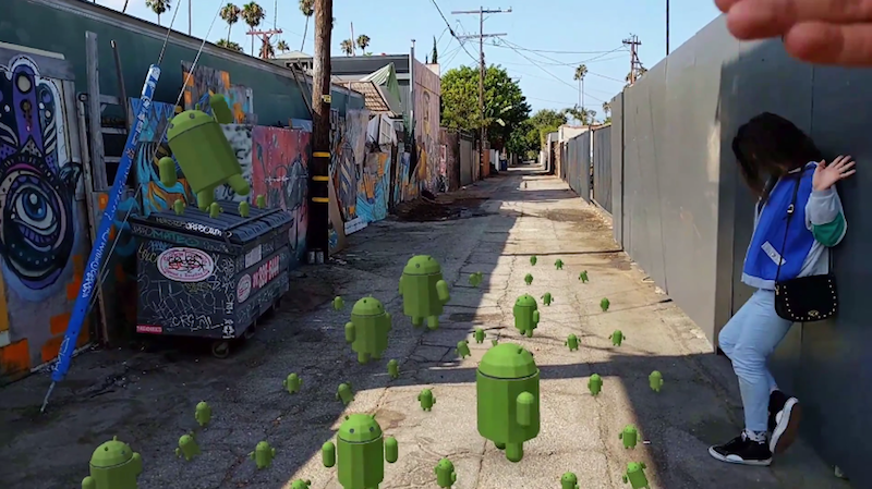 Google Unveils ARCore to Bring Augmented Reality to Millions of Android Devices