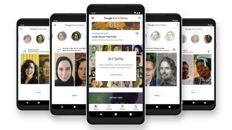 Google's Art Selfie Feature in Arts & Culture App Now Available Globally on Android and iOS