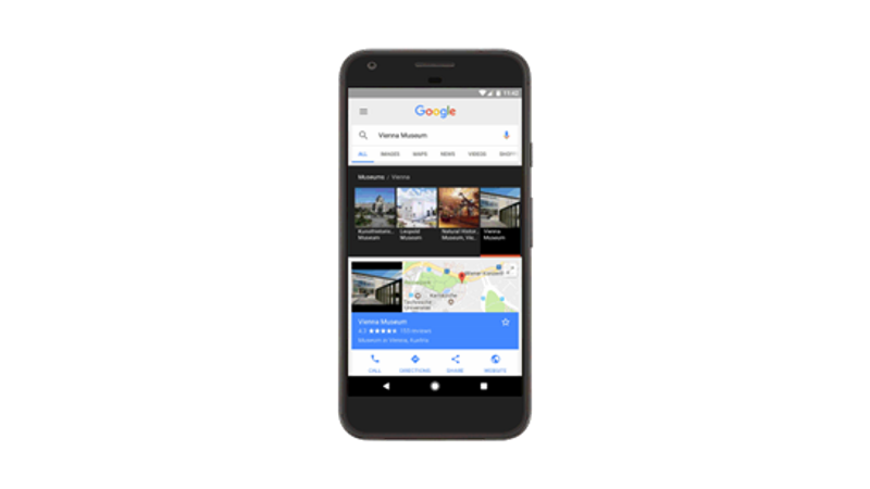 Google Search, Maps Updated With Focus on Arts and Culture