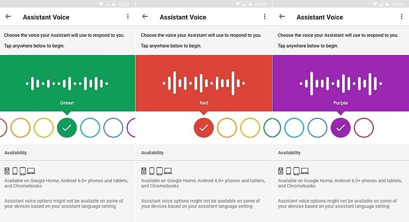 google assistant colours engadget Google Assistant