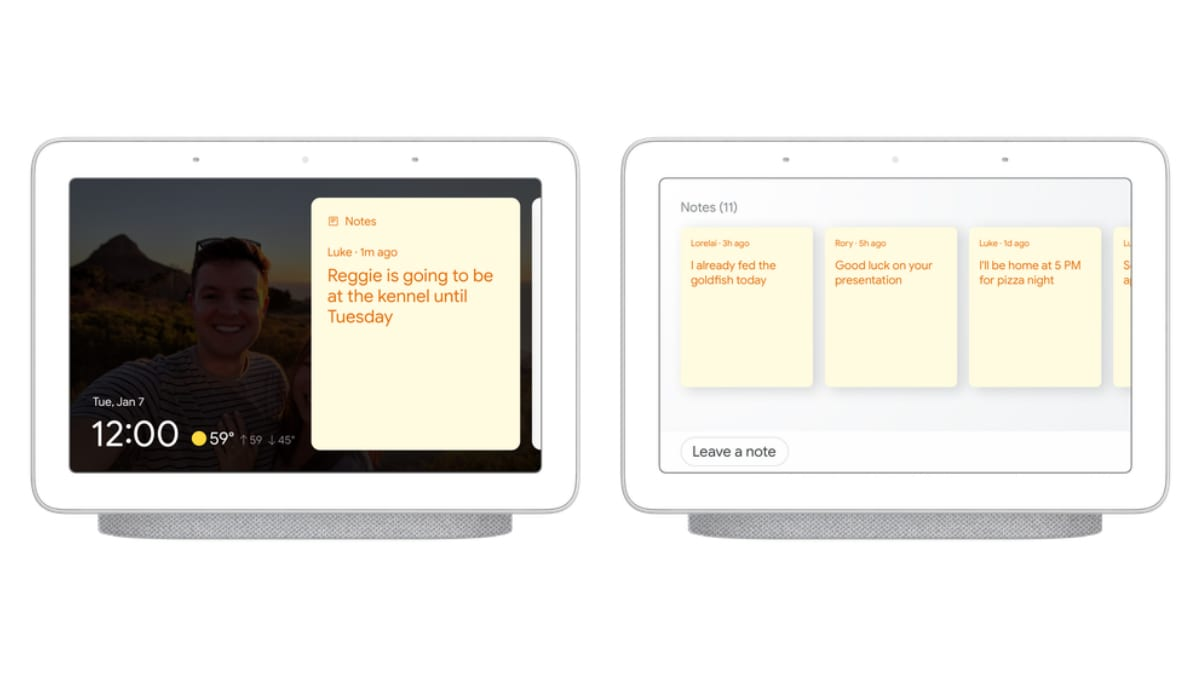 google assistant household notes main Google Assistant