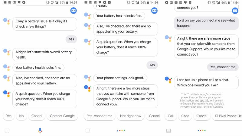 Google Assistant can do basic troubleshooting on Pixel 2 phones