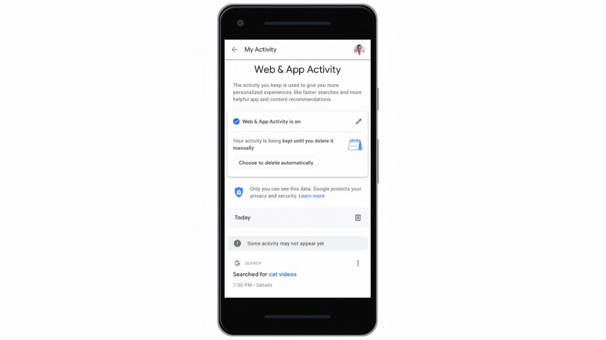 Google to Soon Let Users Automatically Delete Location History, Web and App Activity