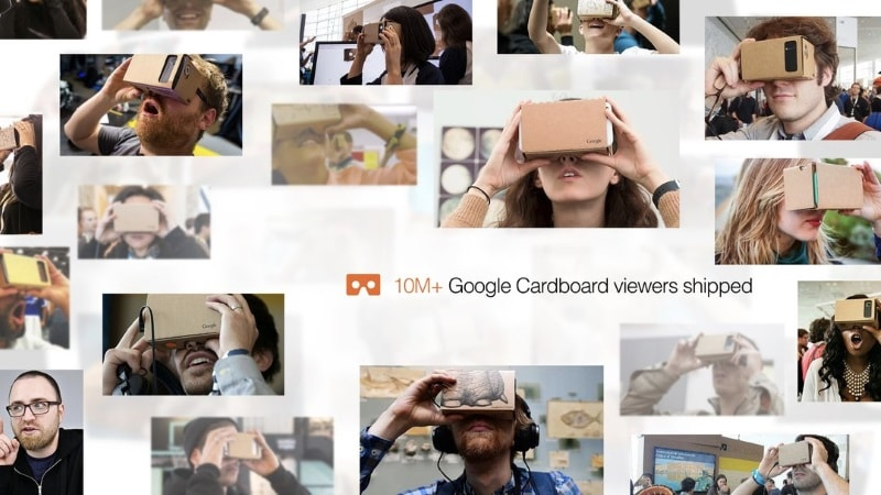 Google Says Over 10 Million Cardboard VR Headsets Shipped Since 2014 Launch
