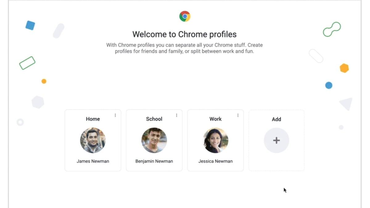 Google Chrome जल्द ही उपयोगकर्ताओं को रंग-कोडित प्रोफ़ाइल बनाने की अनुमति देता है