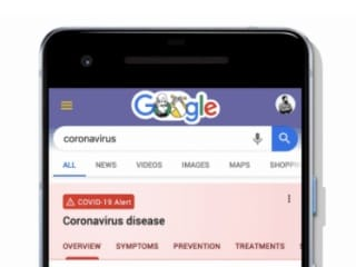 Google's Coronavirus Website Launched in the US, Will Expand to More Countries 'In the Coming Days'