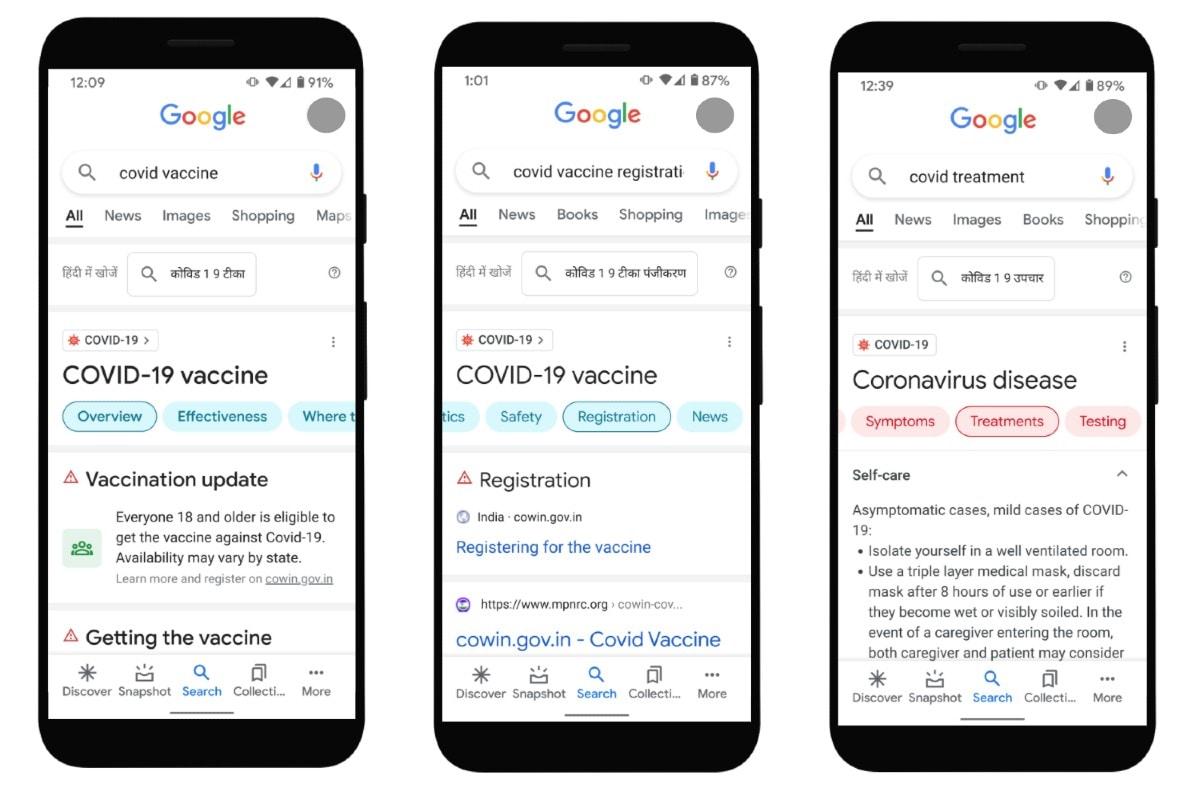 google covid 19 vaccine india image Google Search  Google  COVID 19