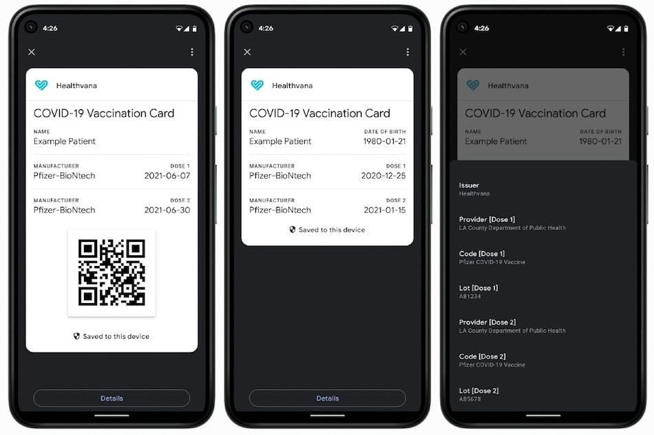 Google Enables Support to Display COVID-19 Vaccine, Test Certificates Natively on Android Devices