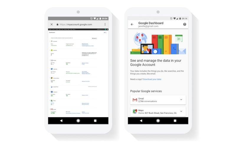 Google Privacy Dashboard Redesign Makes It Easier to Find What Google Knows About You