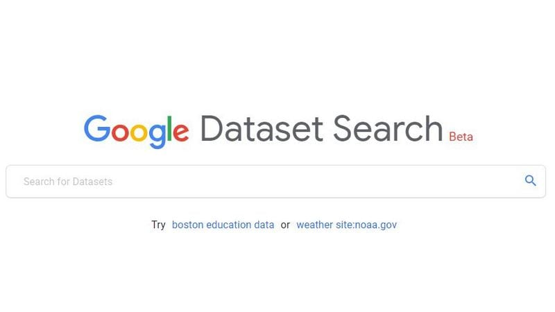Google Dataset Search Is a New Search Engine for the Scientific Community