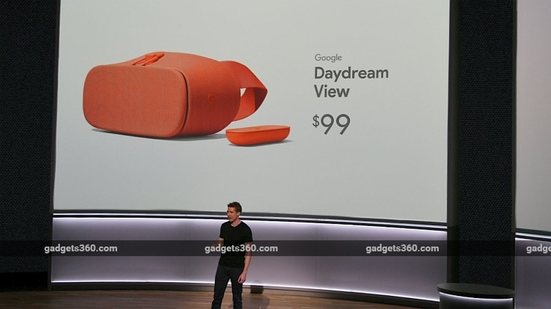 Google Unveils New Daydream View VR Headset With Better Lenses and More