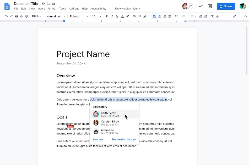 Google Docs Gets New 'Show Editors' Feature to Easily Identify Changes in Shared Documents