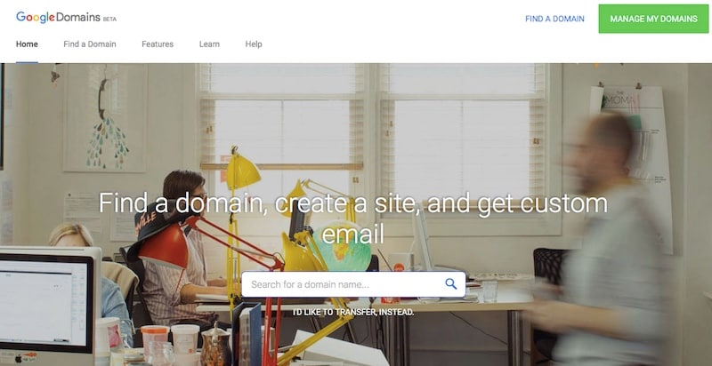 Google Domains Registrar Service Launched in India