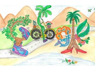 Children's Day 2019: Google India Celebrates With Doodle Titled 'Walking Trees' by National Contest Winner