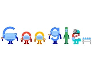 Google Doodle Encourages People to Get COVID-19 Vaccine, Wear Face Masks