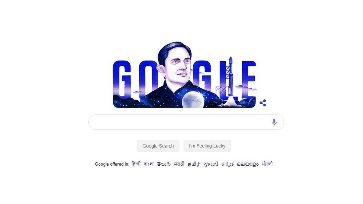 Vikram Sarabhai: Google Doodle Celebrates His 100th Birth