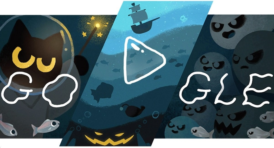 Google Doodle for Halloween Brings 'Magic Cat Academy' Game Back from 2016