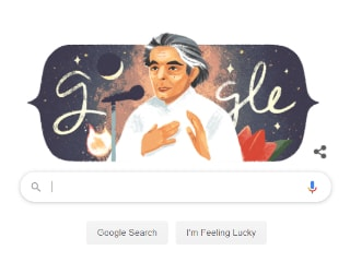Google Doodle Today Commemorates Kaifi Azmi's 101st Birthday