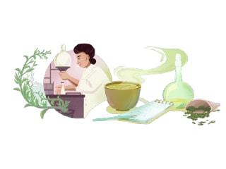 Google Doodle Honours Famed Japanese Green Tea Researcher Michiyo Tsujimura on Her 133rd Birthday