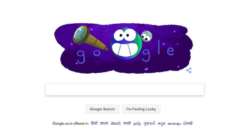 NASA Exoplanet Discovery Commemorated in Thursday's Google Doodle