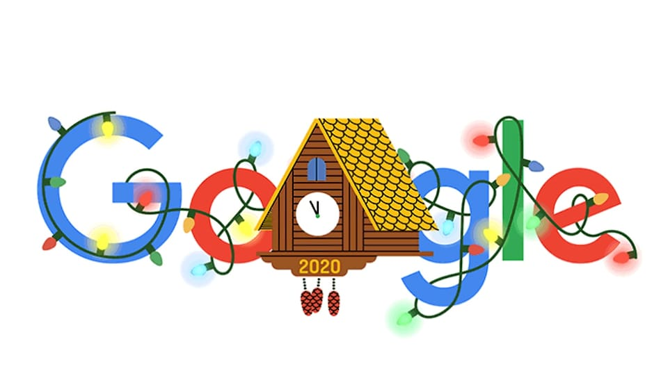 Google's New Year's Eve Doodle Is a Ticking Cuckoo Clock Waiting for 2020 to End