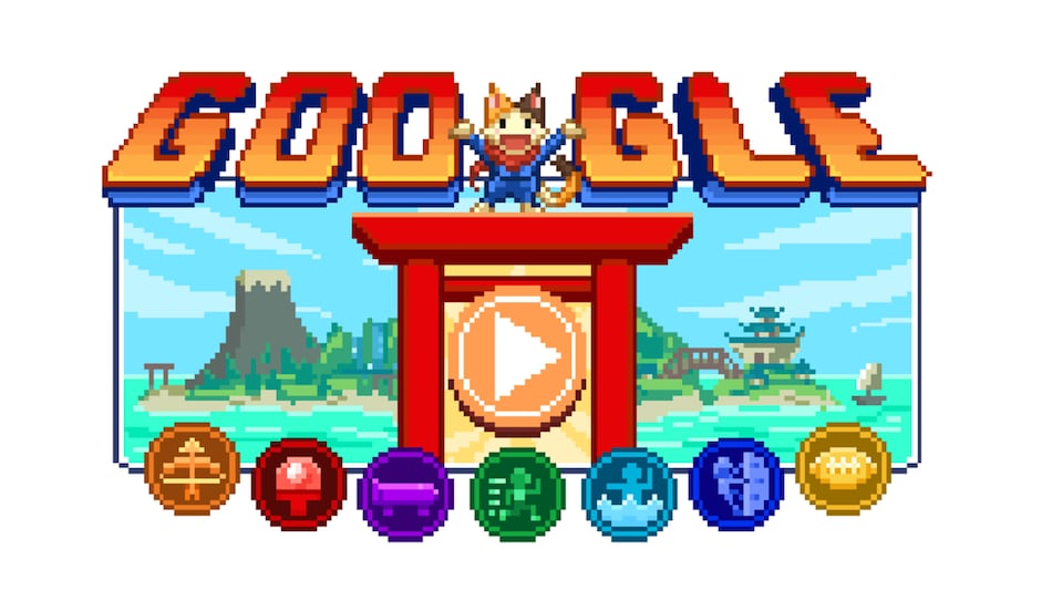 Google Celebrates Tokyo Olympics 2020 With Largest Ever Doodle Game on Homepage: How to Play