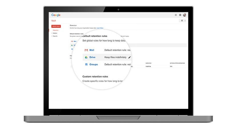 Google Vault Gets New Hangouts Meet and Drive Trash File Retention Rules, Improved Search, More