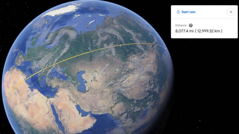 Google Earth Now Lets You Measure Distances, Feature Comes to Chrome and Android