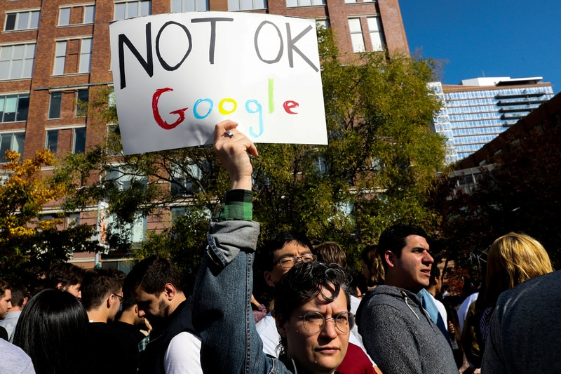 google employees protest reuters full Google