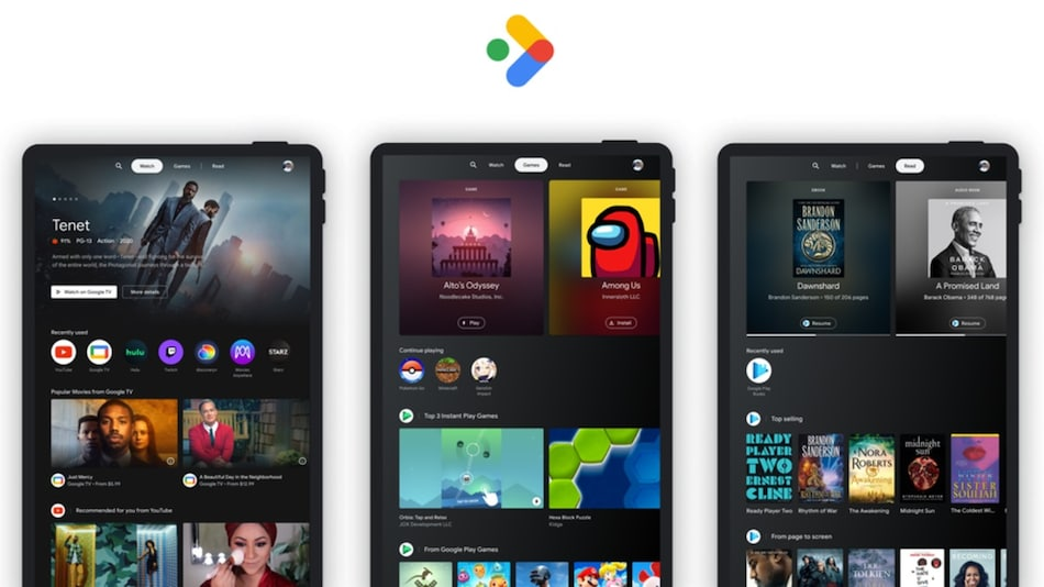 Google Entertainment Space for Tablets Launched, Offers Android TV-Like Experience