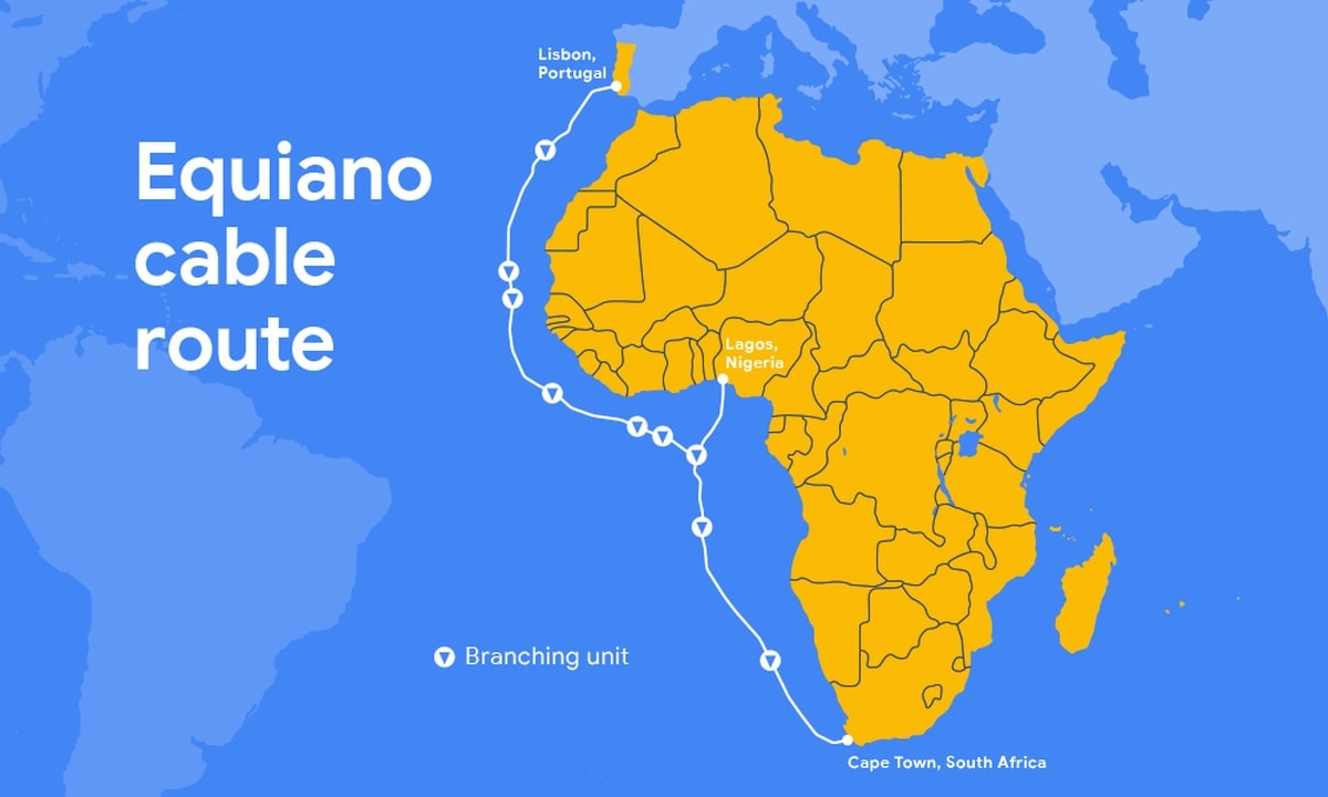 Google's New 'Equiano' Subsea Cable to Connect Africa and Europe