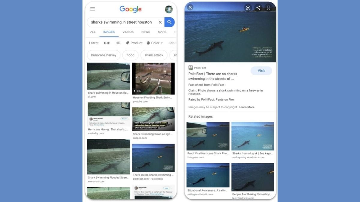 Google Adds Fact-Check to Images to Stem Misinformation