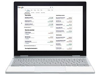Google Search Gets a Finance Tab; Google Finance Revamped