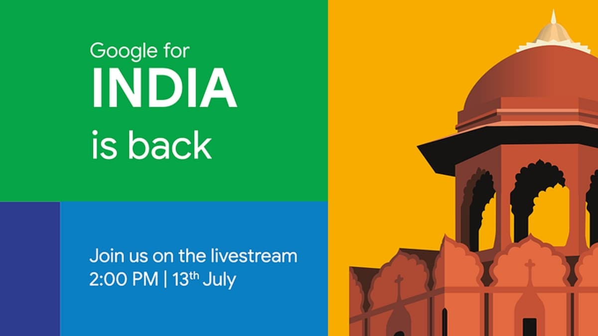 Google for India 2020 Virtual Event Set for Today: Here's How to Watch Livestream, What to Expect