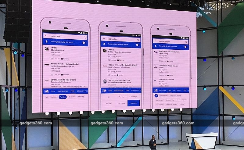 Google I/O 2017: Google for Jobs Launched, an AI-Powered Job Search Tool