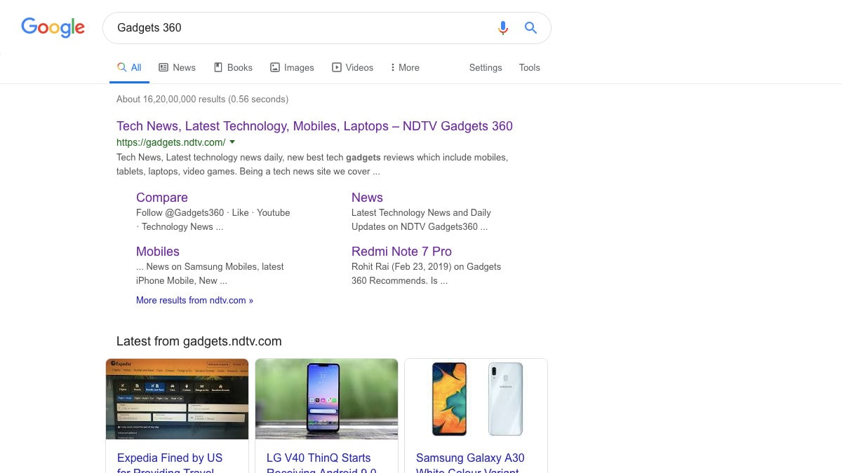 Google Rolls Out Redesigned Search Menu With New Icons Worldwide