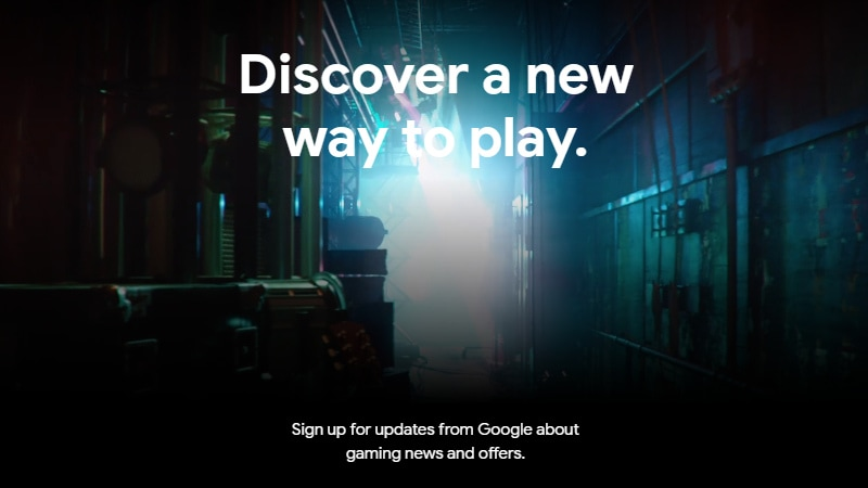 Google reveals site for its GDC 2019 game-streaming service announcement