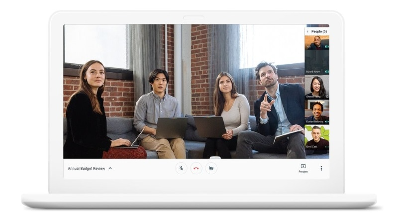 'Hangouts Meet' Video Conferencing, 'Hangouts Chat' Messaging Services Launched