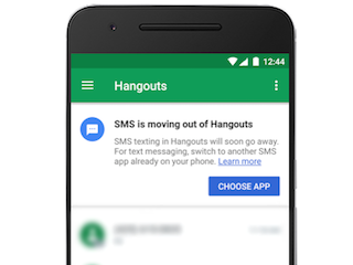 Google Details Hangouts Dropping SMS Support; Google Talk to Be Retired