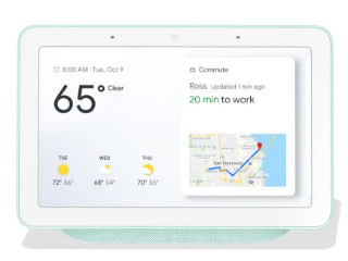 Google Home Hub Uses Cast Platform Instead of Android Things; Reported to Be a Fuchsia OS Test Device