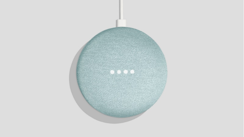 google home mini aqua colour option Google Home Mini Aqua
