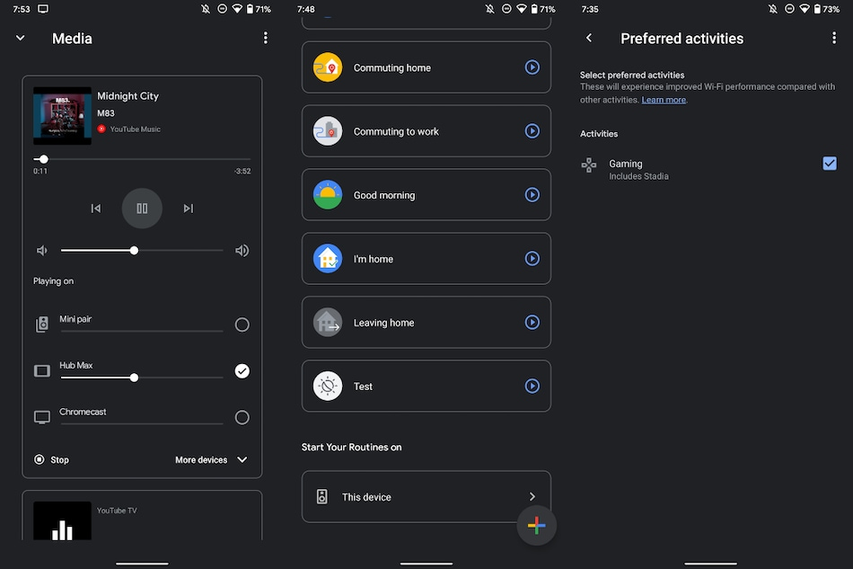 Google Home App Gets Intuitive Multi-Speaker UI, Routine Triggers, New Preferred Activities Feature